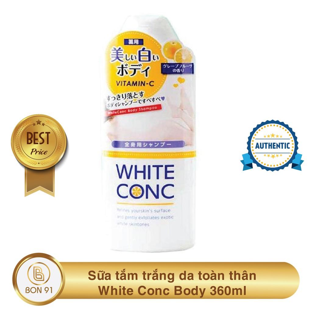 Sữa tắm trắng da toàn thân White Conc Body của Nhật Bản