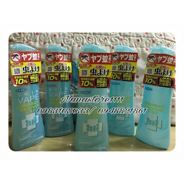 Xịt muỗi Skin Vape Nhật
