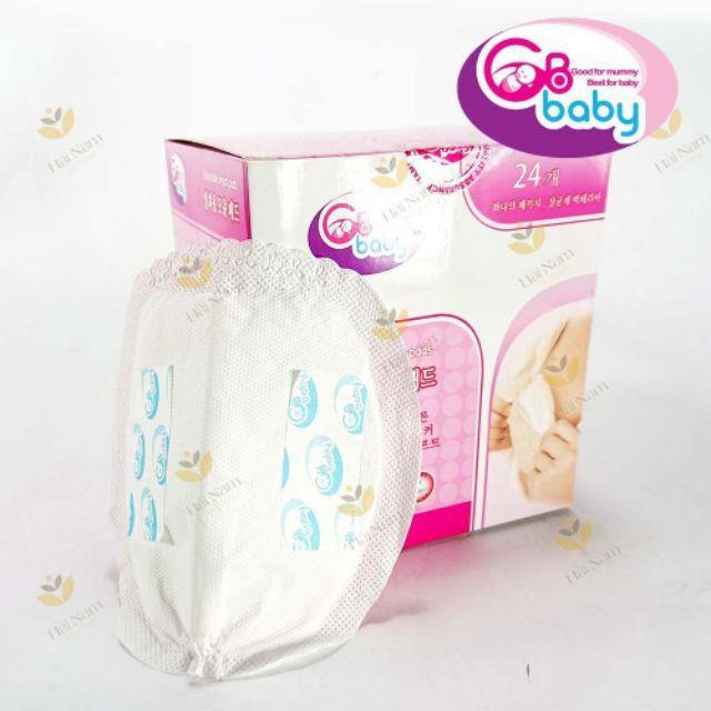 Miếng lót thấm sữa GB Baby 24 tấm Hàn Quốc