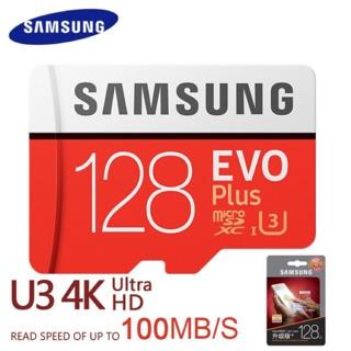 [Chính Hãng] Thẻ nhớ Samsung Evo Plus U3 class10 4K 100Mb/s 128GB ( New 2018)