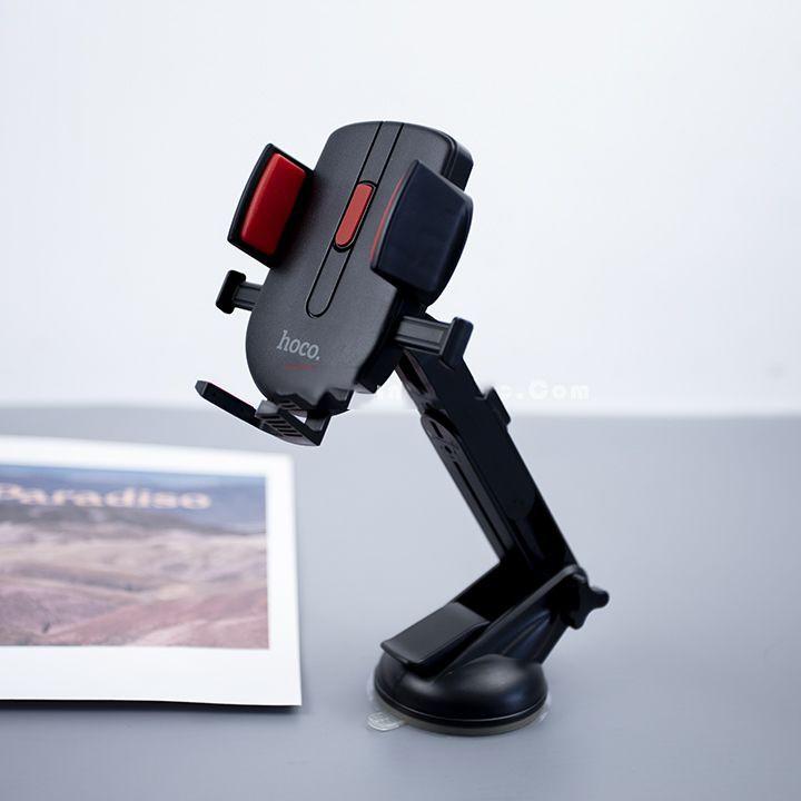Giá Đỡ Điện Thoại Thông Minh Hoco CAD01 Hít xe hơi xoay 350 độ