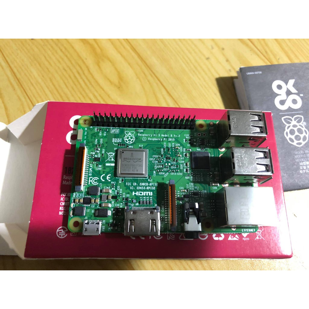 Máy tính Raspberry Pi 3 Model B NEW 2020