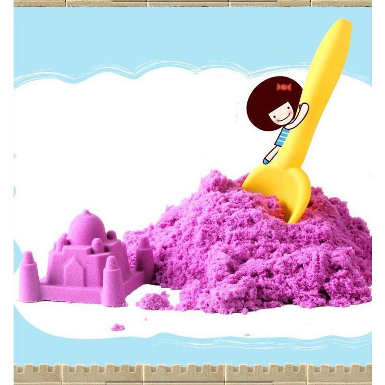 [CỰC ĐẸP] Bộ đồ chơi tạo hình cát động lực cho bé