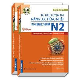 sách - Tài liệu luyện thi năng lực nhật ngữ mới N2