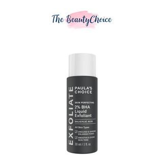 Dung dịch loại bỏ tế bào chết Paula s Choice Skin Perfecting 2% BHA Liquid Exfoliant 30mL (2016)
