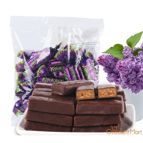 Kẹo sôcôla hạnh nhân đậu phộng Nga Kpokaht 180g date 2020