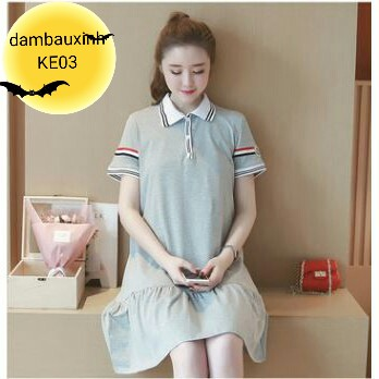 Đầm bầu thời trang công sở KA524