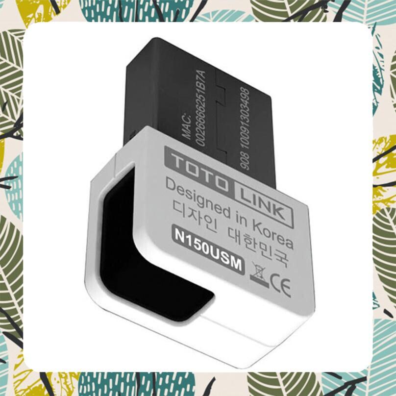 [Hàng Cực Chất] USB WiFi mini TOTOLINK N150USM Giá chỉ 112.500₫
