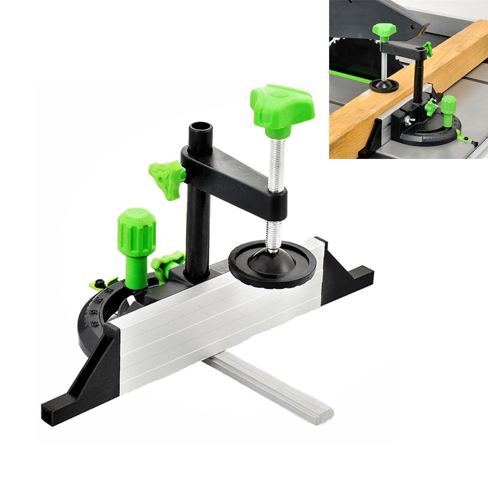 Miter Gauge Angle Push Ruler Accessories Carpenter Table Saw Aluminum Woodworking DIY Tool
