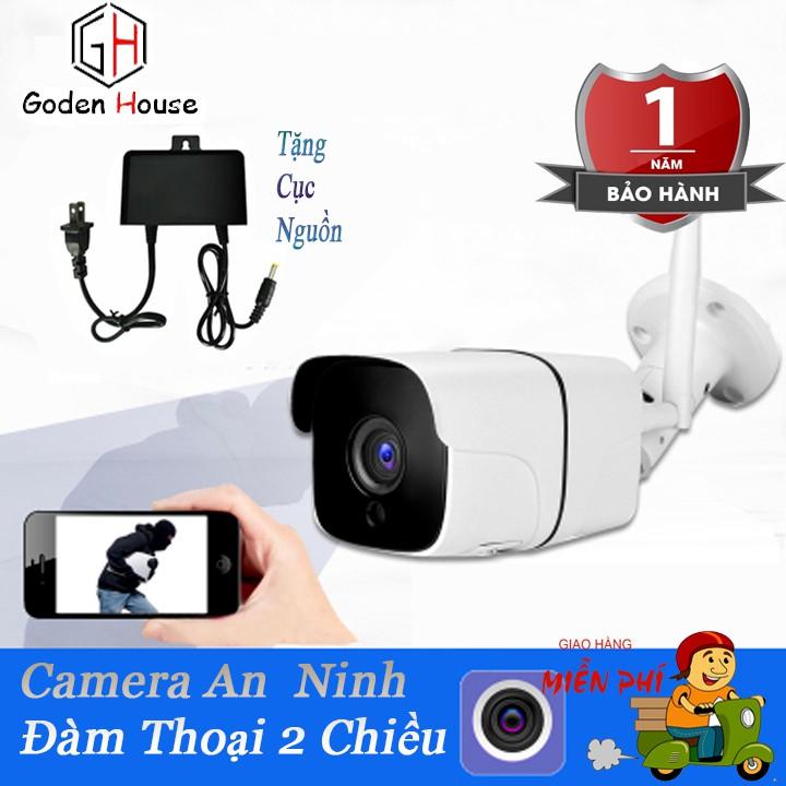 Camera an ninh IP Wifi Kiwivision A100, camera giám sát ngoài trời chống nắng mưa hoạt động độc lập không cần đầu ghi