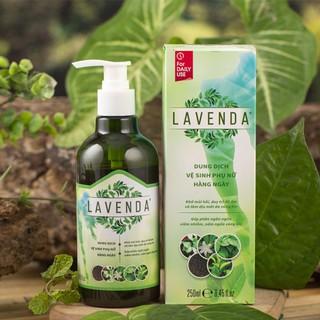 Dung dịch vệ sinh phụ nữ Lavenda - Hỗ trợ khử mùi hôi, duy trì độ ẩm và làm dịu mát vùng kín (chai 250 ml) thumbnail
