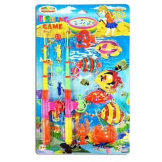 Bộ đồ chơi xếp hình sáng tạo 263 (L10- Vỉ đồ chơi câu cá) – M1457-LR