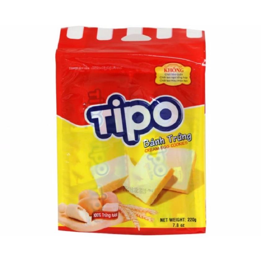 Bánh trứng Tipo 220g - 10014644 , 509871822 , 322_509871822 , 28000 , Banh-trung-Tipo-220g-322_509871822 , shopee.vn , Bánh trứng Tipo 220g