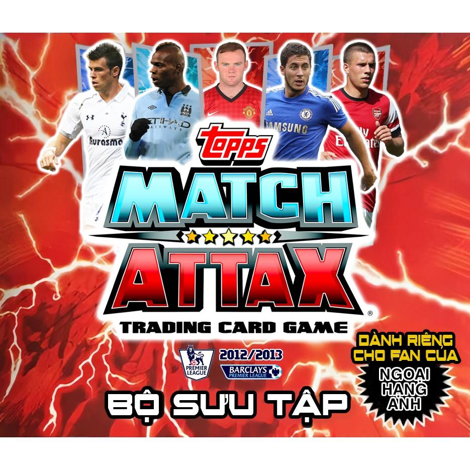 Bộ Sưu Tập 80 Thẻ In Match Attax 2012-13 Poca