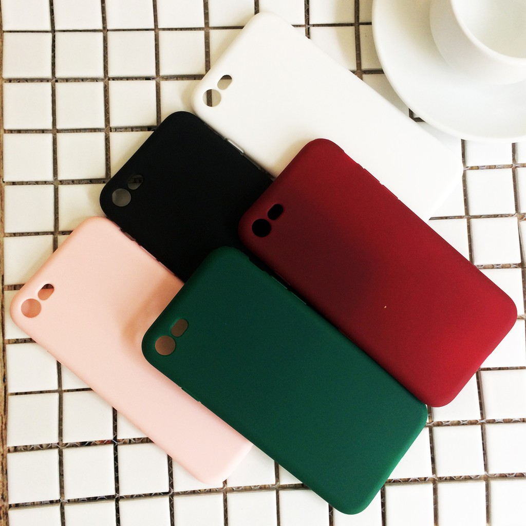 Ốp lưng dẻo matte nhiều màu dành cho iPhone 7 / iPhone 8