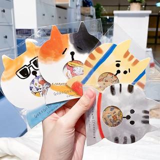 [Mã FASKT4 giảm 10K đơn 50K] Set Sticker Chó Mèo Dễ Thương thumbnail