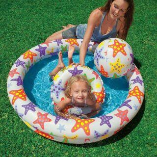 Bể bơi intex 3 chi tiết cho bé