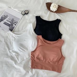 Áo bra, croptop Hàn siêu co giãn, thời trang Hàn Phong Cách Thể Thao BR006 thumbnail
