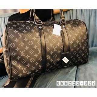 Túi du lịch nam quai da , vân in nổi bật sang trọng, tiện lợi cho picnic, dã ngoại, đi chơi, dạo phố kích cỡ rộng 66223 thumbnail