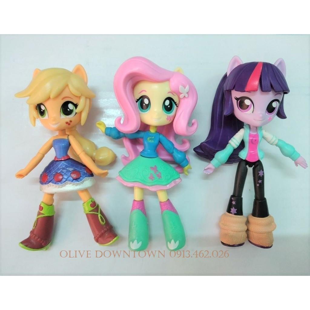Bộ 3 búp bê 13cm PINKIE PIE, TWILIGHT SPARKLE & RAINBOW DASH – My Little Pony