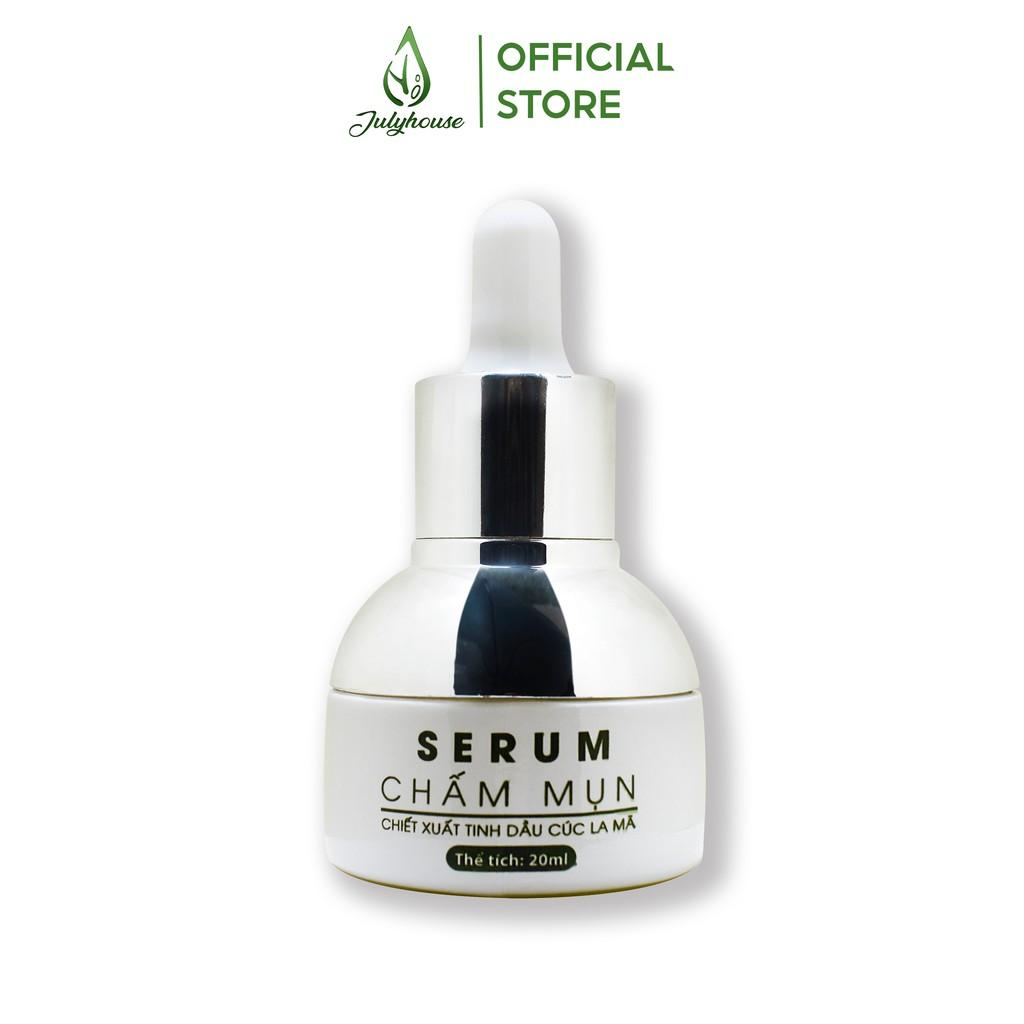 [Mã FMCG10 - 10% đơn 199K] Serum trị mụn tinh dầu cúc la mã 20ml JULYHOUSE