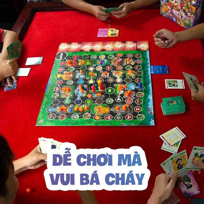 [Nhập TOYBGVN giảm 15%]Combo Board Game Lớp Học Mật Ngữ - Cuộc đua sao chổi và bộ Sleeves bọc bài...