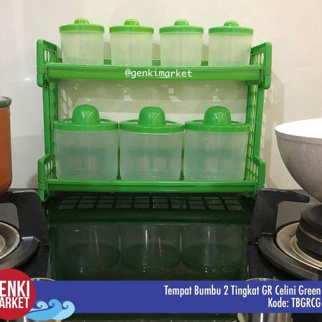 ↕ Lọ đựng gia vị bằng nhựa 2 cấp độ tiện dụng cho nhà bếp