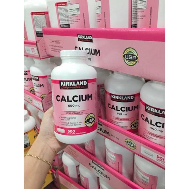 {Date 10/2020}-Thuốc Bổ Sung Canxi Kirkland Calcium 600mg + D3 500vien của Mỹ