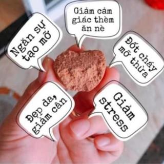 Kẹo Socola Giảm Cân Đan Mạch Chính Hãng hộp trắng - Hộp 40 Viên thumbnail