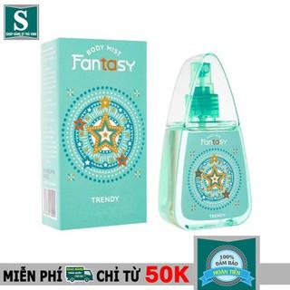 Nước Hoa Toàn Thân Fantasy Trendy 60ml thumbnail
