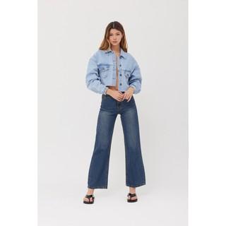 Là min - Quần Jeans Suông Straight-leg Jeans thumbnail
