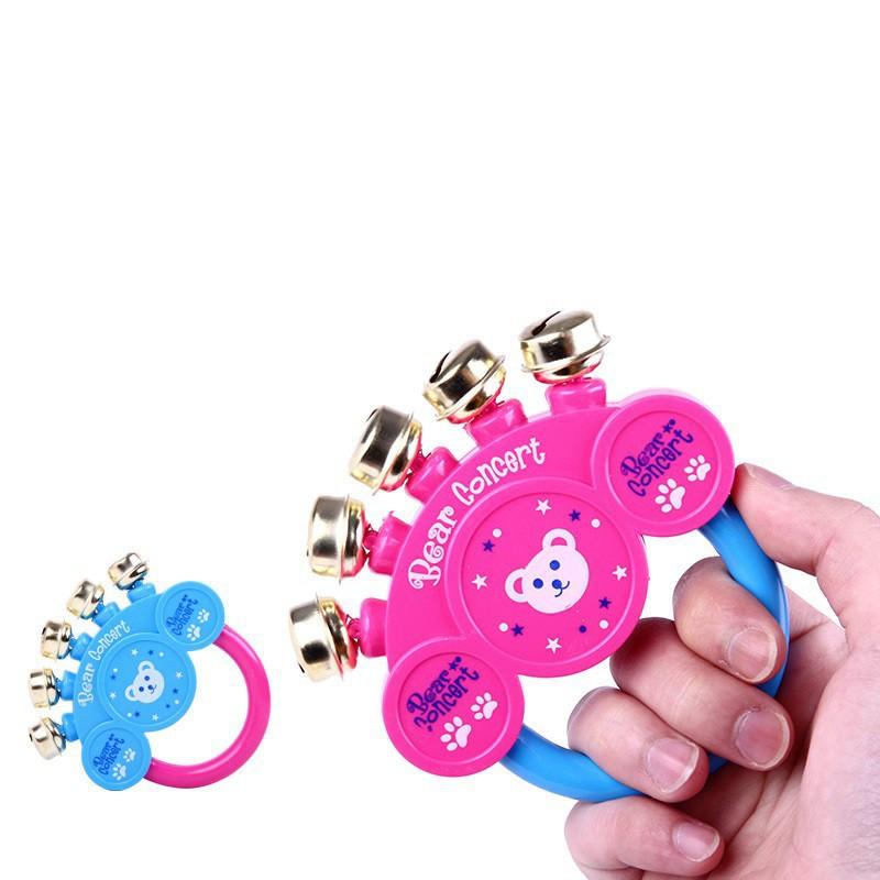 [Sale Xả Hàng] Đồ chơi tay cầm có chuông cho bé-Đồ Chơi Trẻ Em 6186 [Giá Siêu Rẻ]