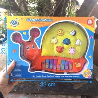 Đồ chơi đàn piano hình ốc sên – đồ chơi trẻ em