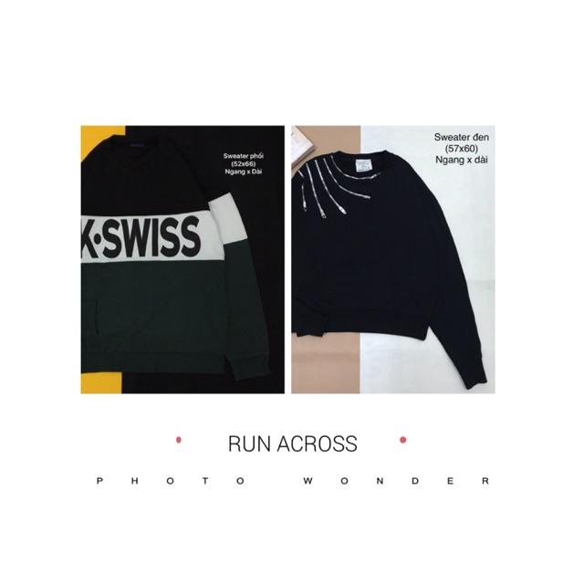 Combo 2 áo sweater