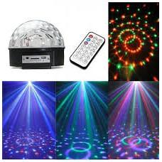 Loa đèn vũ trường cảm ứng âm thanh