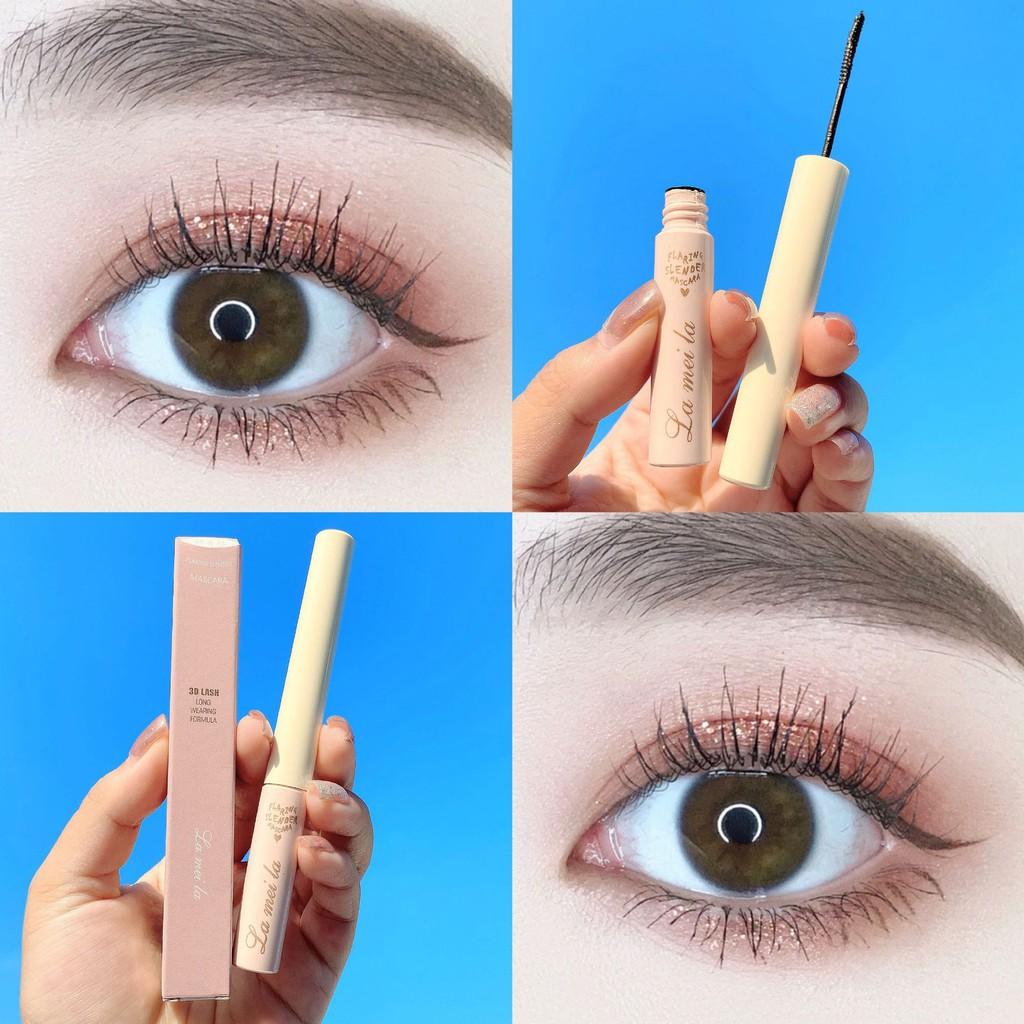 [Mẫu mới]🌈🥑🍒 Chuốt Mi Mascara Siêu Mảnh Và Tơi Mi Lameila 779 Skinny Microcara Vỏ Hồng