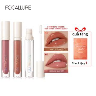 Hình ảnh FOCALLURE PLUMPMAX High Shine & Shimmer Lip Gloss 10 màu 3g 1pc-8