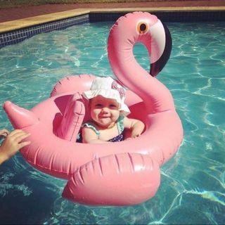 Phao bơi thiên nga cho bé