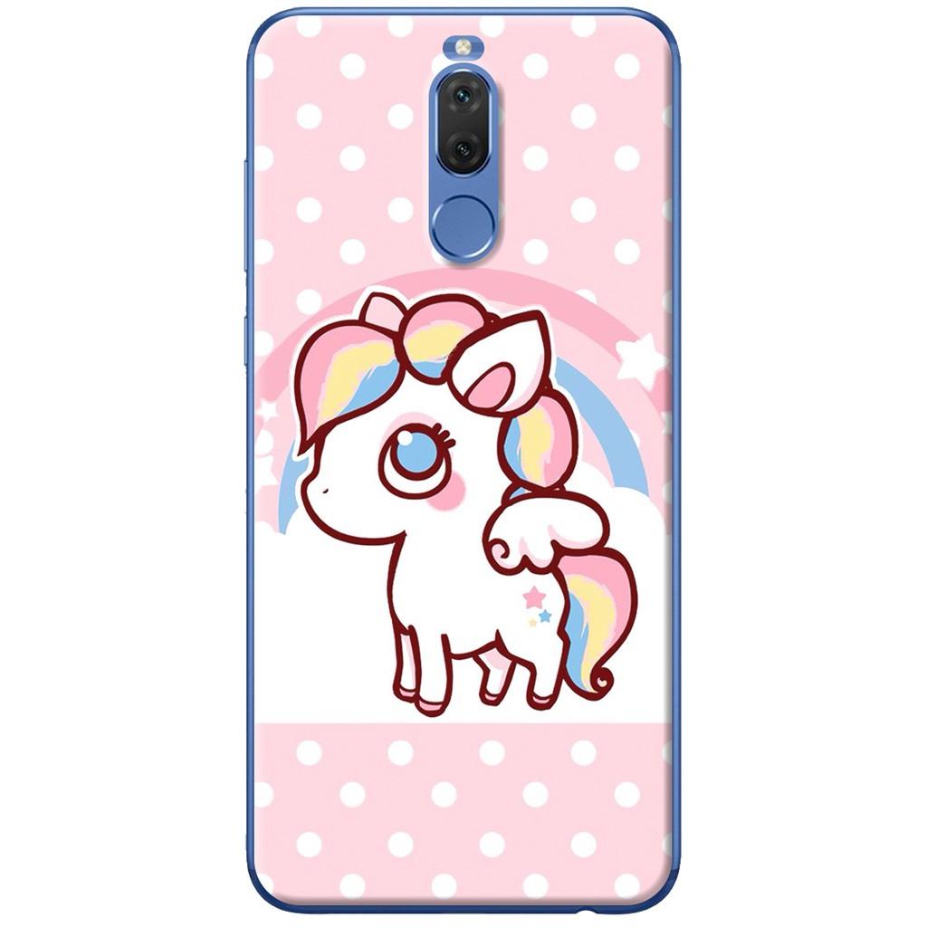 Ốp lưng nhựa dẻo Huawei Nova 2i Ngựa hồng