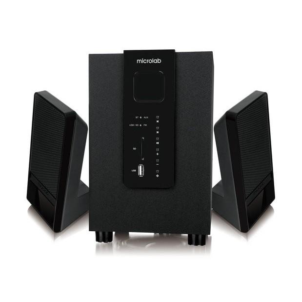 Loa Microlab M100BT-2.1 /10W /40Hz-18kHz,(Tích Hợp USB, Thẻ Nhớ, Bluetooth)