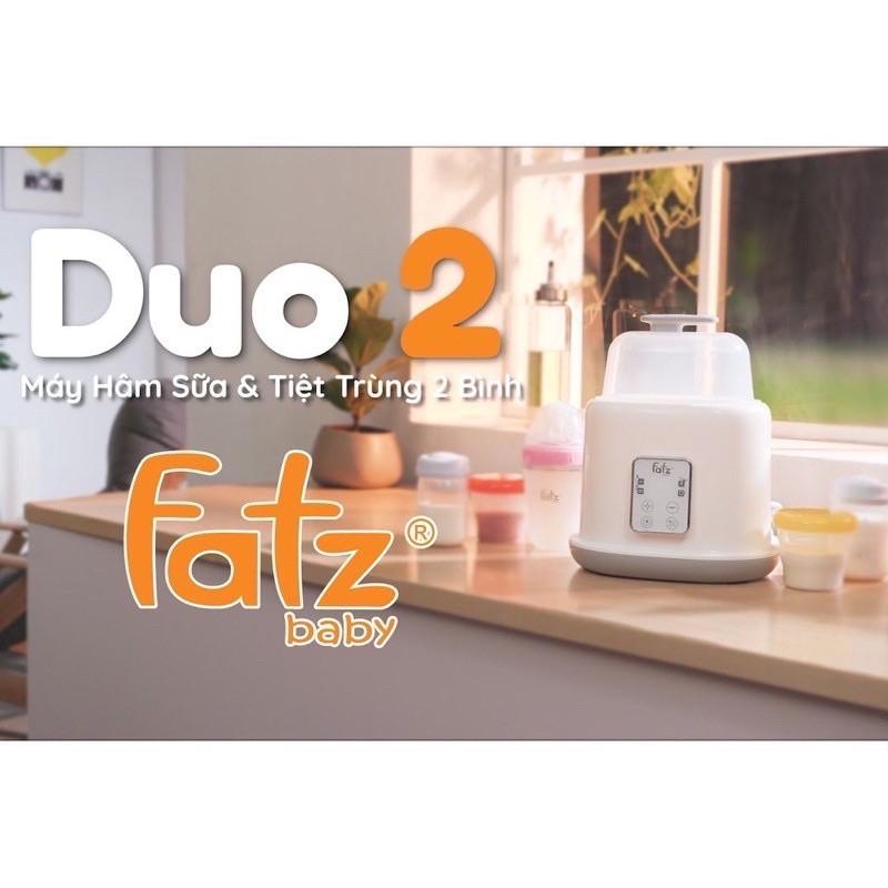 Máy Hâm Sữa Tiệt Trùng 2 Bình Điện Tử Duo 2 Fatz Baby FB3223SL  - 𝗕𝗮𝗯𝘆𝗪𝗼𝗿𝗹𝗱𝘀.𝘃𝗻