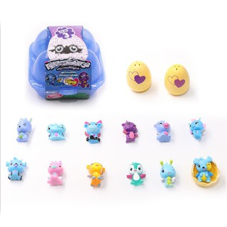 ★naiional★For Hatchimals (4 Pieces) Mysterious Hatching Mini Pet ornaments Gift Toys