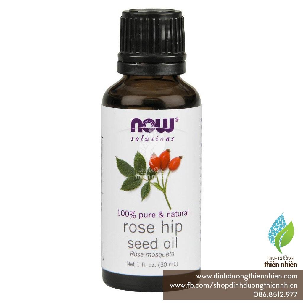 Dầu Nụ Tầm Xuân Now Food Solutions Rosehip Seed Oil, 30ml