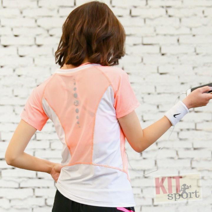 Áo thun phông ngắn thể thao nữ Mandy (Đồ tập gym,yoga) II A1 KIT SPORT VIỆT NAM