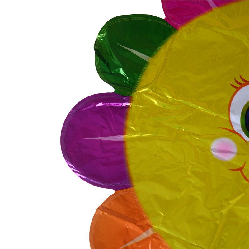 Youyimaoli 66*92cm Cute Sunflower Aluminum Foil Balloons Pillar DIY Party Decoration