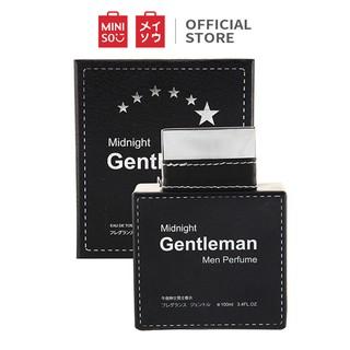 Nước hoa Nam Miniso Midnight Gentleman 100ml - Hàng chính hãng