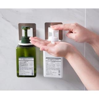 Móc treo dầu gội đầu , móc treo chai sữa tắm dán tường nhà tắm siêu chắc 88100 SHOP SIÊU RẺ