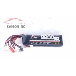 Pin Remote (TX) 2s 7.4v 2200mah 8C