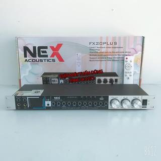 Vang cơ Karaoke Nex FX20 Plus - Vang nhại hay, chống hú tốt có bluetooth, cổng quang, usb, ngõ ra Sub ĐẶC BIỆT CÓ ĐIỀU K