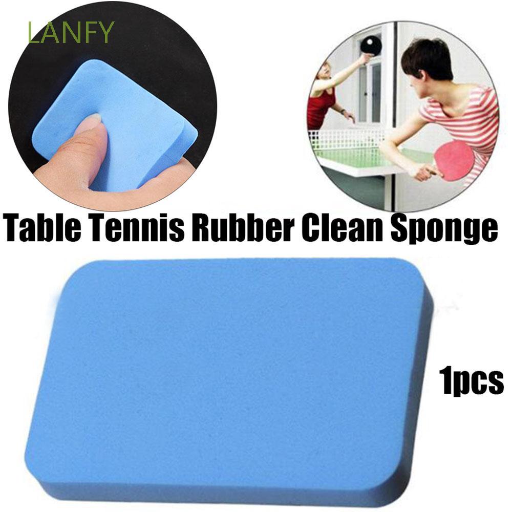 Miếng bọt biển cao su vệ sinh vợt bóng bàn chuyên nghiệp tiện lợi